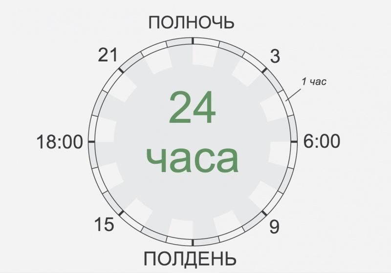 Схема 6 школьного дня
